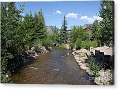 Big Thompson Estes Park Acrylic Print