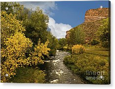 Big Thompson River 2 Acrylic Print by Jon Burch Photography
