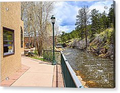 Big Thompson River Walk Acrylic Print