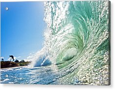 Acrylic Print featuring the photograph Big Wave On The Shore by Paul Topp