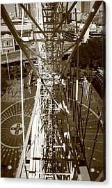 Darling Harbour Big Wheel.  Acrylic Print