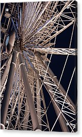 Big Wheel Acrylic Print