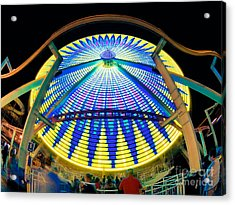 Big Wheel Keep On Turning Acrylic Print