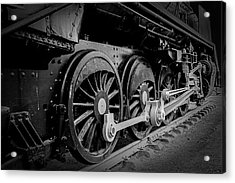 Big Wheels Acrylic Print by Herbert Seiffert
