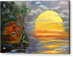 Magical Sunser Jenny Lee Discount Acrylic Print