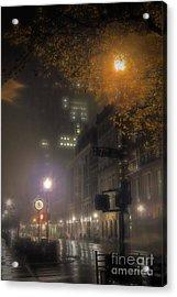 Acrylic Print featuring the photograph Bigga Mist by Robert McCubbin