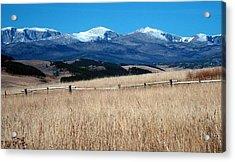 Bighorn Mountains Wy Acrylic Print