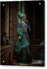 Bijou Stained Glass Acrylic Print