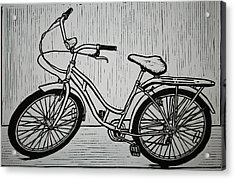 Bike 5 Acrylic Print by William Cauthern