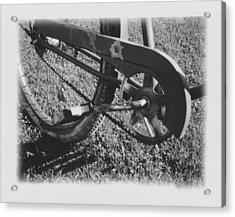 Bike Acrylic Print by Brady D Hebert