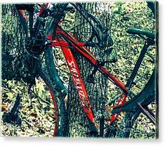 Bike By Wilderness  Acrylic Print