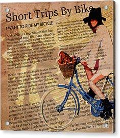 Bike In Style Acrylic Print by Sassan Filsoof