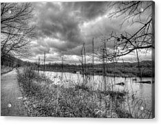 Bike Trail Off-season Acrylic Print