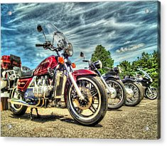 Bikers Grove Acrylic Print