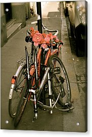 Bikes In Italy Acrylic Print