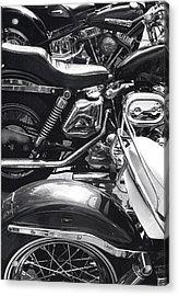 Bikes Acrylic Print by Steven Huszar