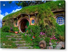 Bilbo Baggin's House 5 Acrylic Print