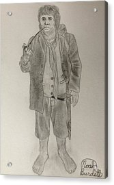 Bilbo Baggins Acrylic Print