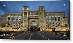 Bill Snyder Family Stadium Acrylic Print by Thomas Zimmerman