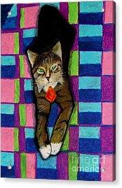 Bill The Cat Acrylic Print