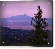 Bill Williams Over The Valley Acrylic Print
