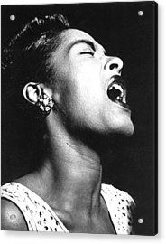 Billie Holiday (1915-1959) Acrylic Print by Granger
