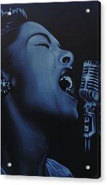 Billie Acrylic Print by Nicko Gutierrez