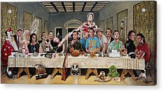 Bills Last Supper Acrylic Print