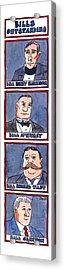 Bills Outstanding Acrylic Print by Jack Ziegler