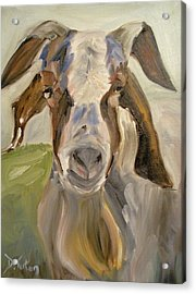 Acrylic Print featuring the painting Billy by Donna Tuten