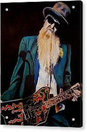Billy Gibbons Acrylic Print