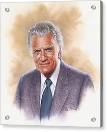 Billy Graham Evangelist Acrylic Print