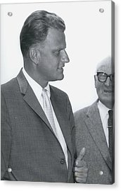 Billy Graham, �the Greatest Evangelist Of Our Times� Acrylic Print by Retro Images Archive