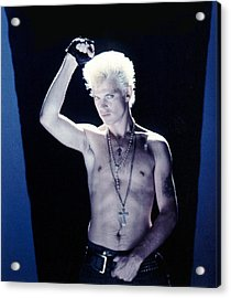 Billy Idol - Close Up & Personal Acrylic Print by Epic Rights