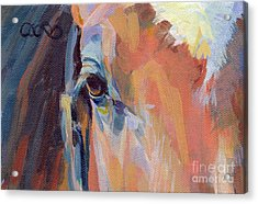 Billy Acrylic Print by Kimberly Santini