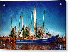 Biloxi Boat Docks Acrylic Print