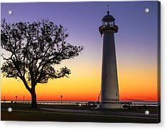 Biloxi Lighthouse Acrylic Print by Brian Wright
