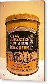 Biltmore Ice Cream Acrylic Print