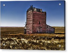 Acrylic Print featuring the painting Bingo Grain Co by Muhie Kanawati