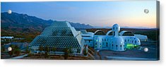 Biosphere 2 At Sunset, Arizona Acrylic Print