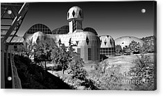 Biosphere 2 Acrylic Print by Gregory Dyer