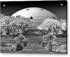 Biosphere2 - Dome Panorama Acrylic Print by Gregory Dyer