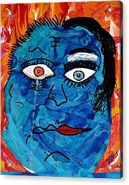Bipolar Blues Acrylic Print