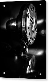 Birch Brothers Phonograph Detail Acrylic Print