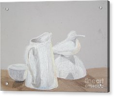 Bird And Pitcher Acrylic Print by Christopher Murphy