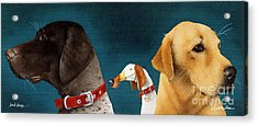 Bird Dogs... Acrylic Print