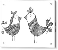 Bird Love Birds Acrylic Print