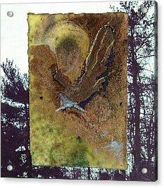 Bird Acrylic Print by Marie Tosto