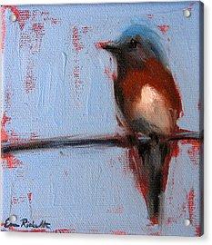 Bird On A Wire II Acrylic Print
