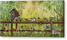 Bird Song Acrylic Print
